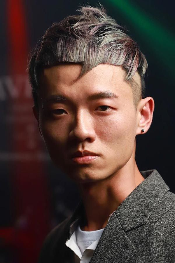 Short And Spiky #koreanhairstyles