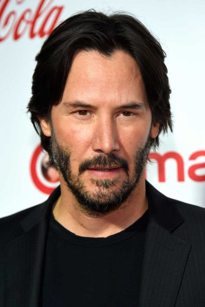 Keanu Reeves Eboy Haircut #eboyhaircut #eboyhair #curtainshair #curtainshairstyles #middlepartmen