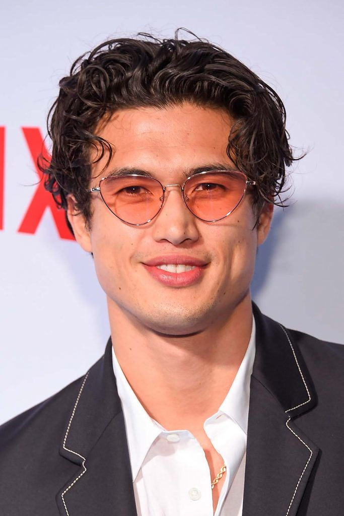 Charles Melton Eboy Haircut #eboyhaircut #eboyhair #curtainshair #curtainshairstyles #middlepartmen