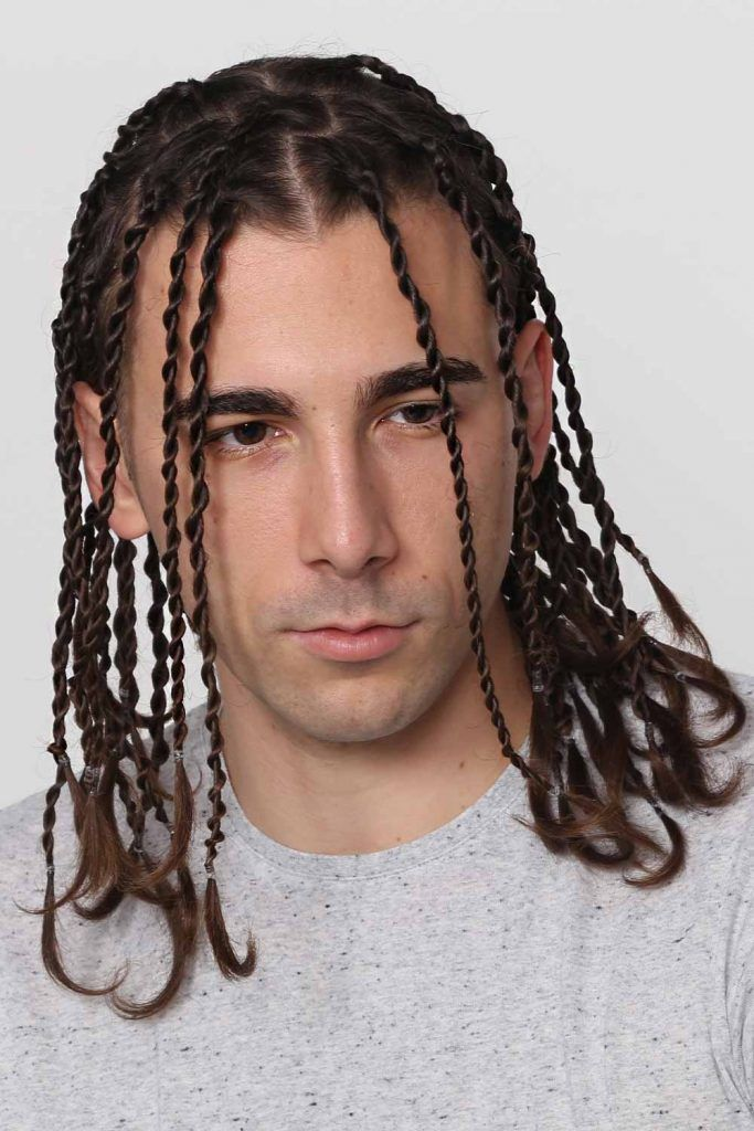 Two Strand Twist Men #twist #twistedhair #twisthair #twistedhairmen