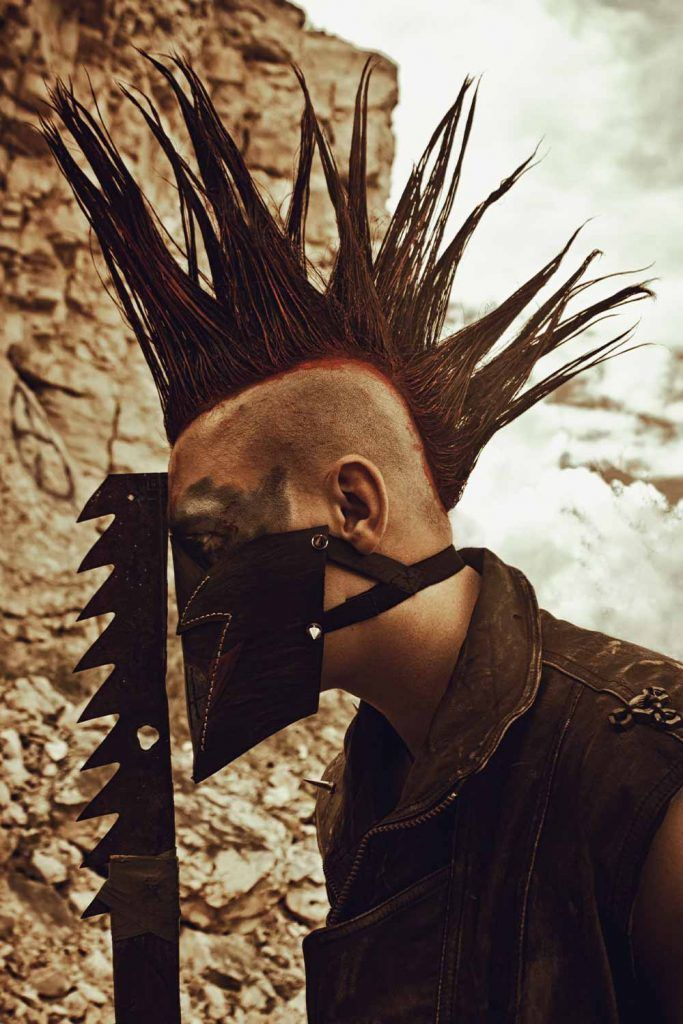 What Are Liberty Spikes? #libertyspikes #spikes #spikedhair #punkhair #punkhairstyles