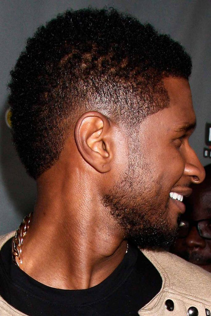 Usher's South of France Burst Fade Mohawk #burstfade #fade #fadehaircut