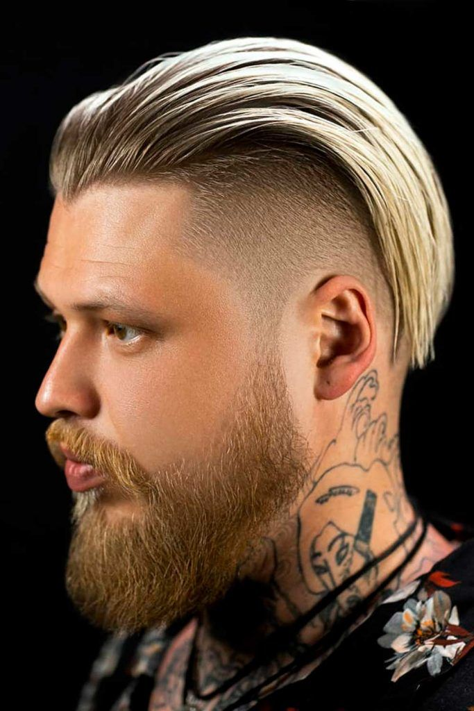 Slicked Back Undercut #regularhaircut #undercut #slickedbackundercut