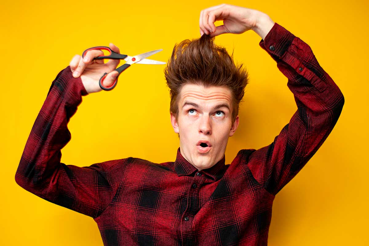 How To Cut Your Own Hair (Men). All Questions Answered