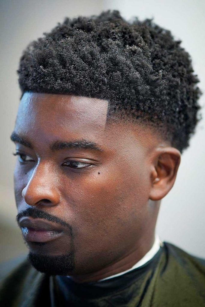 The Short Afro #blackmenhaircuts #haircutsforblackmen #blackhair #blackhaircuts