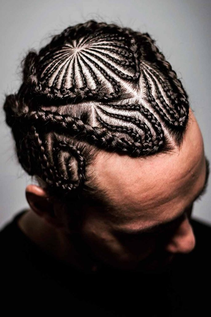 Short Cornrows Men #cornrows #cornrowsmen #braidsformen #manbraid