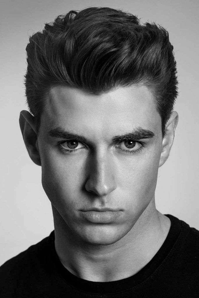 Brush Up Wavy Hair #gentlemanshaircut #gentlemanscut #gentlemanhaircut