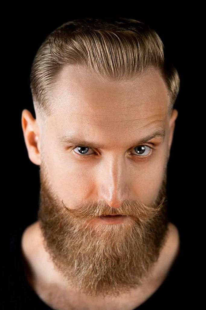 Side Part With Beard #gentlemanshaircut #gentlemanscut #gentlemanhaircut
