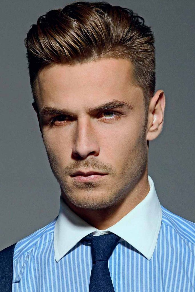 Slicked Back Gentleman's Haircut #gentlemanshaircut #gentlemanscut #gentlemanhaircut
