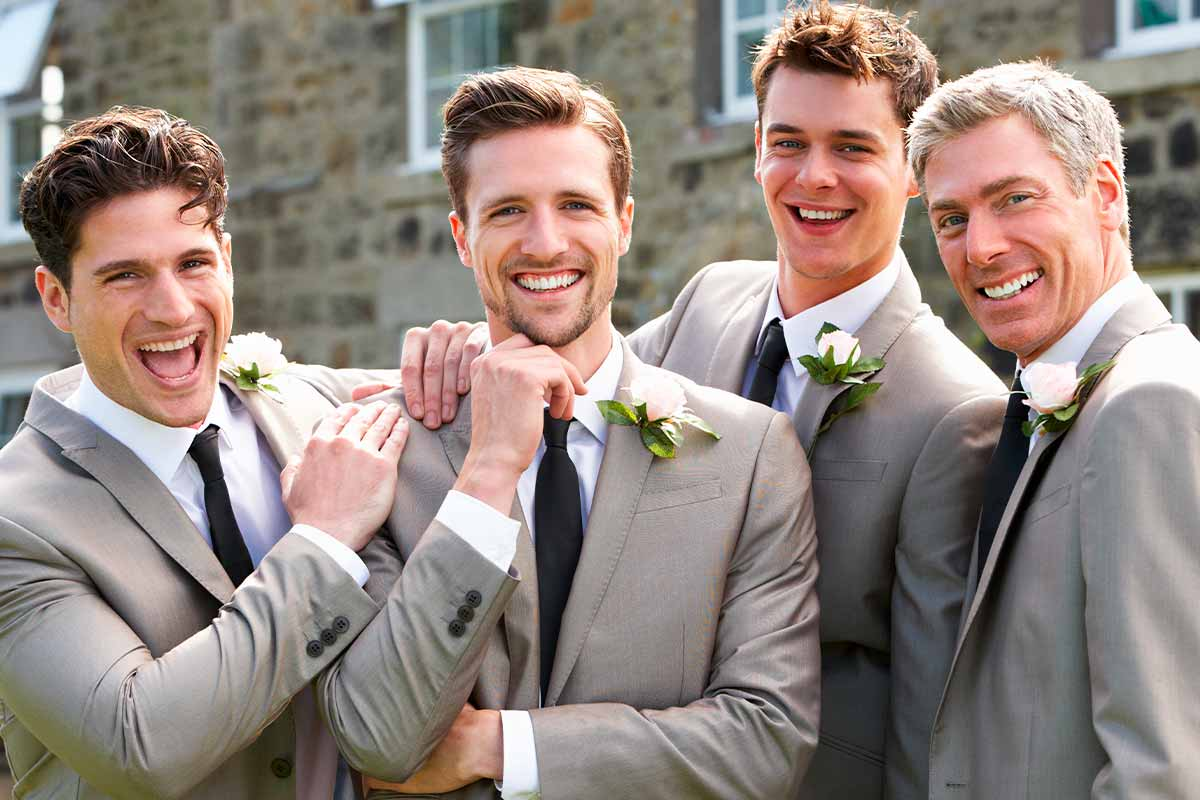 40+ Wedding Hairstyles For Men You Won't Cringe At Ten Years Down The Track